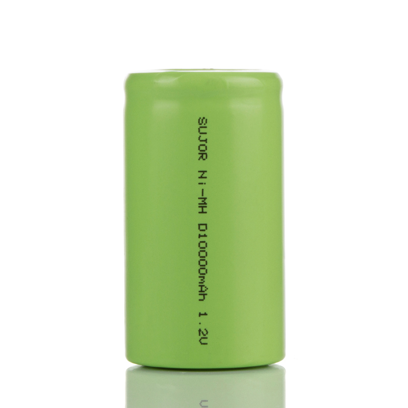 NiMH rechargeable battery D10000mAh