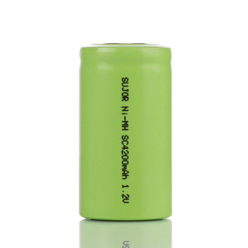 NiMH rechargeable battery 1.2V SC4200mAh