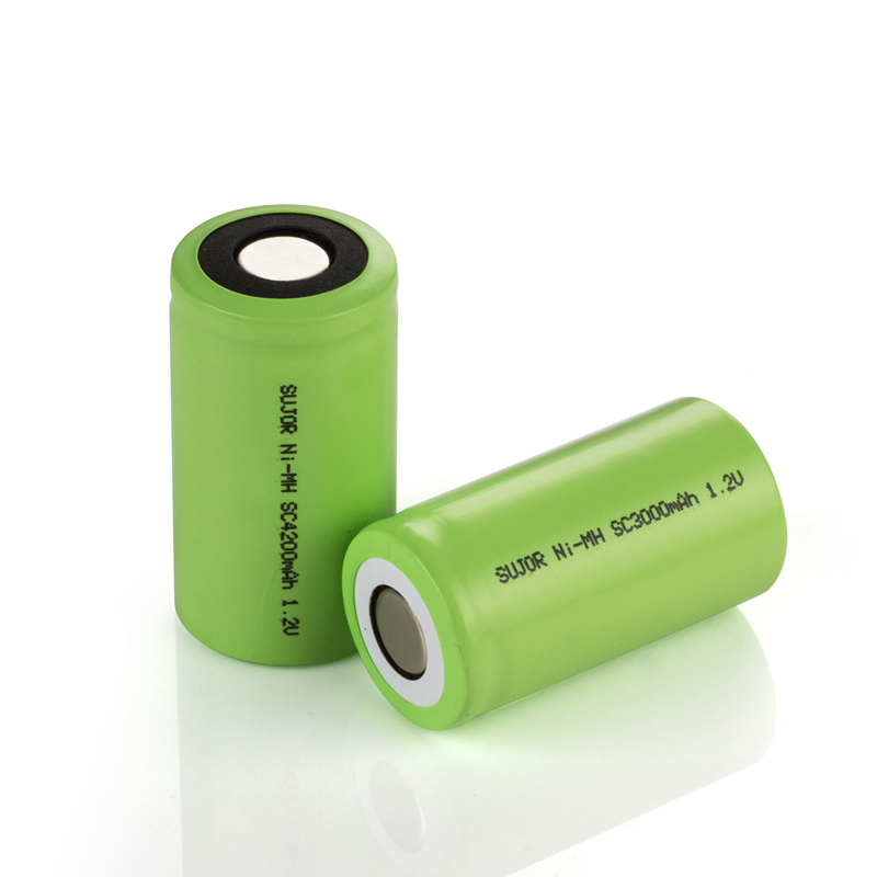 NiMH rechargeable battery 1.2V SC4200mAh