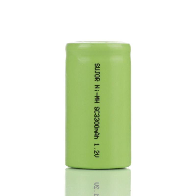 NiMH battery 1.2V SC3300mAh