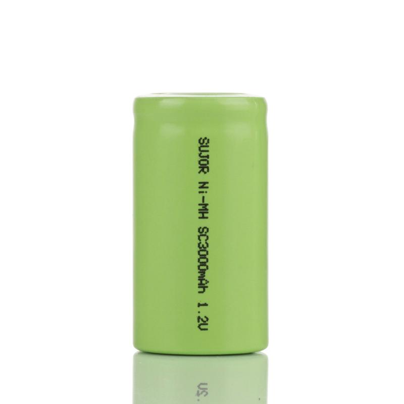 NiMH 1.2V SC3000mAh battery