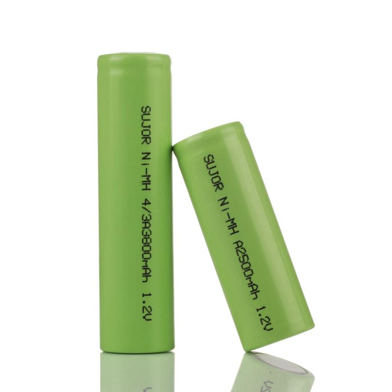 NiMh 1.2V A2500mAh battery