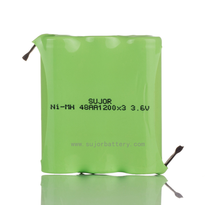 nimh 3.6V AA1200mAh battery for toys