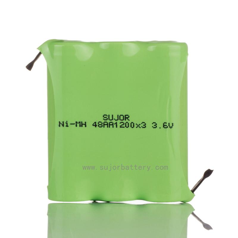 nimh 3.6V AA1200mAh battery for toys