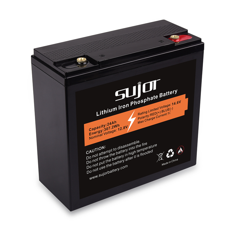 LiFePO4 battery pack 12V 24Ah for UPS