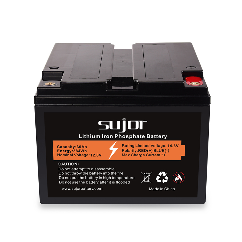 LiFePO4 battery pack 12V 30Ah for lead acid replacement