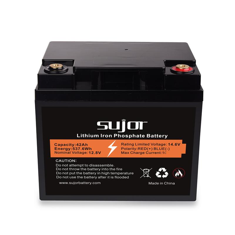 LiFePO4 battery pack 12V 42Ah