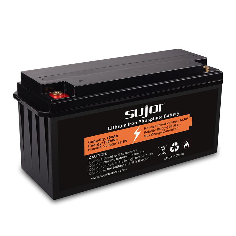 LiFePO4 battery pack 12V 150Ah for EV